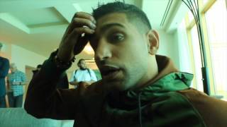 AMIR KHAN REACTS TO DEVASTATING KNOCKOUT DEFEAT TO CANELO - & SAYS HE 'NEEDS TO FIGHT GOLOVKIN'