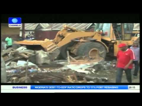 Delta State Environment: Buldozers Deployed To Warri
