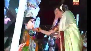 Rani Mukherjee at immersion Of Devi Durga