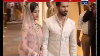 EXCLUSIVE: Shahid Kapoor, Mira Rajput walk the aisle post wedding