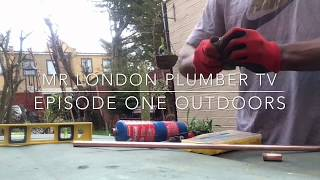 How To Make a DIY Coffee Maker Or Tea Maker Out Of Copper Pipe With Mr London Plumber