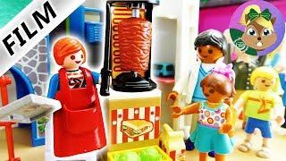 فيلم بلايموبيل -جوليان يفتح محل شاورمة! غرفة أطفال للوجبات الخفيفة!  عائلة الطيور