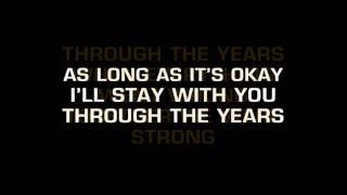 Kenny Rogers - Through The Years (Karaoke)
