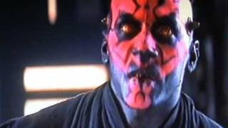 Darth Maul's Death (with Gut Wrench Scream)