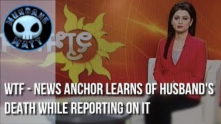 [News] WTF - News Anchor learns of husband