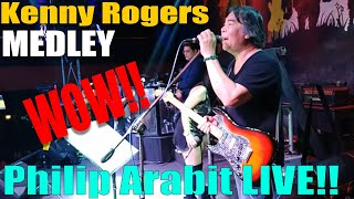 KENNY ROGERS MEDLEY BY PHILIP ARABIT AND HIGH CALIBER BAND