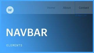 Responsive navigation bar - Web design tutorial