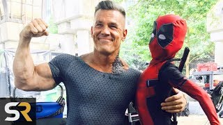 Deadpool 2 Behind The Scenes Moments That Will Make You Love The Movie Even More