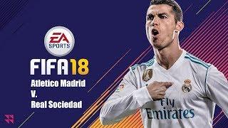 Atletico Madrid v. Real Sociedad (LaLiga)