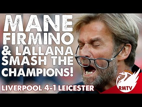 Liverpool v Leicester  4-1 |