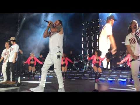 Nelly, Backstreet Boys, and Florida Georgia Line Finale Mashup