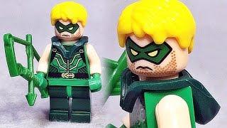 decool 그린 애로우 레고 짝퉁 슈퍼히어로 미니피겨 lego knockoff dc comics green arrow minifigure