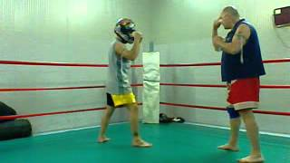 muay thai - muay lao techniques  by whitemaster and nak muay alexis