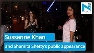 Sussanne Khan and Shamita Shetty spotted at Croma |Uncut|BollywoodLatest|