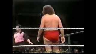 The Duke of Dorchester vs. Andre the Giant
