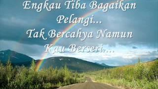 Pelangi Petang - Sudirman with lyrics