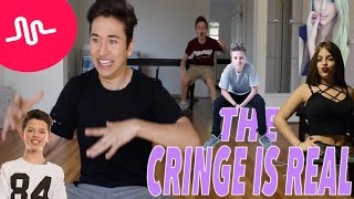 Reacting to CRINGEY Musical.ly's (BabyAriel, Jacob Sartorius, Loren Beech, & more)