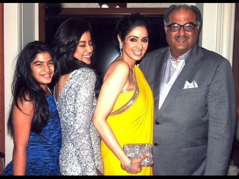 Actress Sridevi with Family Personal Video
