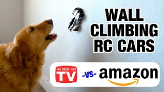 Wall Climbing RC Cars Compared: As Seen on TV vs Amazon