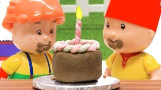 Funny Animated cartoons Kids | Birthday Fun | WATCH ONLINE | Caillou Stop Motion | Cartoon movie