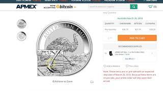 NEW! 2018 EMU Silver Coin Perth Mint