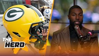 Greg Jennings on the Packers losing Jordy Nelson, signing Jimmy Graham | THE HERD