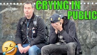 CRYING TO STRANGERS IN PUBLIC!!