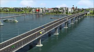 Meghna Third Bridge - Draft Animation