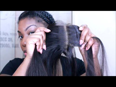 how to Prep your LACE CLOSURE FLAT & NATURAL