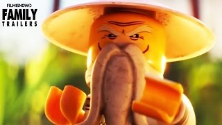 The Lego Ninjago Movie | Jackie Chan's Master Wu battles a chicken