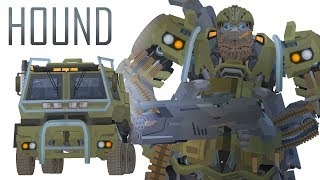 HOUND - Transform Short Flash Transformers Series