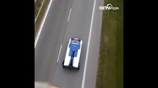 قيادة السيارة في الهواء ليست حلما! السيارة الطائرة وصلت الى شانغهاي|CCTV Arabic
