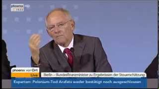 Schäuble unverschlüsselt: Holt euer Geld von der Bank !!!