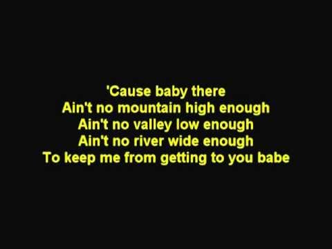 Ain't No Mountain High Enough - Marvin Gaye & Tammi Terrell (Cover)
