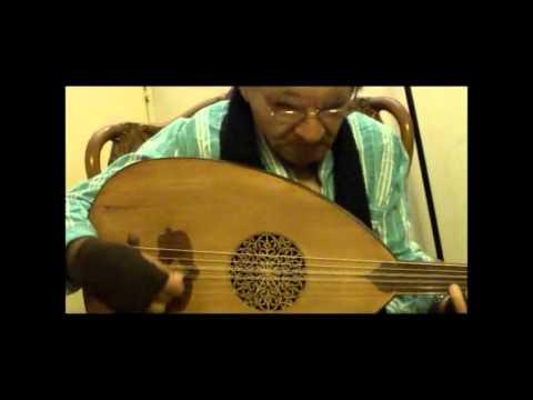 Amazing Oud 92 year old Abou Feesha عبد الحميد أبوفيشا ملك العود 92 سنة