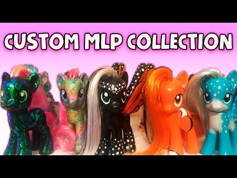 MY CUSTOM PONY COLLECTION - 2016 MandaPanda Toy Collector MLP My Little Pony