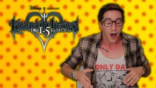 Kingdom Hearts 1.5 Remix - Hot Pepper Game Review feat. Neil McNeil