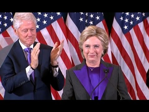 Hillary Clinton FULL Concession Speech Election 2016