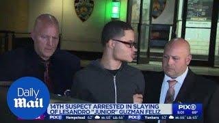 """14th suspect arrested in the murder """"Junior"""" Guzman-Feliz"""