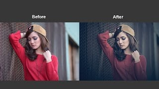 Cinematic Color Tone Photoshop Tutorial
