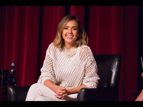 Jessica Alba at USC Full Interview 2015