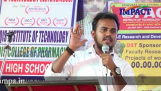 Blogging Tips For Newbies by Janardhan Raju at IMPACT Ongole  2016
