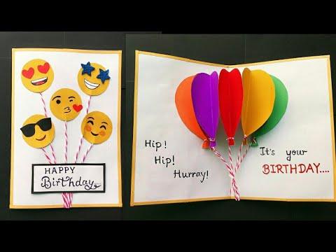 Xxx Mp4 Handmade Birthday Card Birthday Balloon Pop Up Card Birthday Greeting Card Ideas Cute Birthday Card 3gp Sex