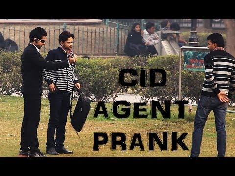 Fake CID Agent Prank - Pranks In India | TST Pranks