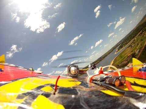 Voando Asa Elétrica em Terras de Santa Cristina Avaré SP GOPRO HD