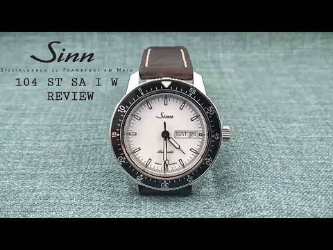 Sinn 104 ST SA I White Review - A Perfect Everyday Watch