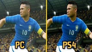 PES 2016 - PC vs PS4 Graphics and Gameplay Comparison