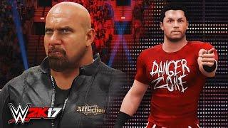 CHRIS DANGER SPOILS GOLDBERG'S WWE RETURN!! | WWE 2K17 Custom Story