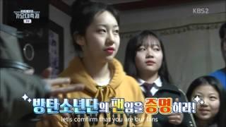 [ENG] BTS come fan's house @ KBS GAYO DAECHUKJE 2015