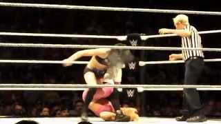 Paige vs. Natalya WWE Boston Live Event 09/14/14